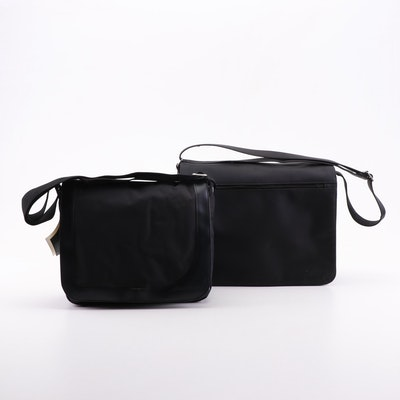 Eddie Bauer Urban Messenger and Other Black Nylon Messenger Bags