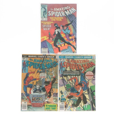 "Bronze Age Marvel ""The Amazing Spider-Man"" Comic Books Including Issue #252"