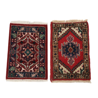 Hand-Knotted Indo-Persian Heriz Rugs