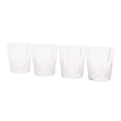 Wedgwood Lead Crystal Double Old Fashioned Glasses, Set of 4