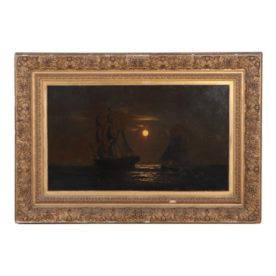 Warren Sheppard Nocturnal Oil Painting