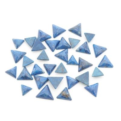 Loose 54.41 CTW Lapis Lazuli Gemstones