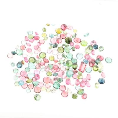 Loose 46.02 CTW Tourmaline Gemstones