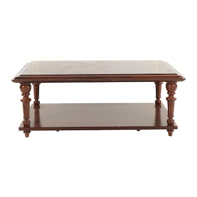 Pottery Barn Rustic Coffee Table.Arts And Crafts Style Pottery Barn Rustic Mahogany Coffee Table