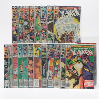 "Marvel's ""The Uncanny X-Men"" Comic Books Including Issue #140, Bronze Age"