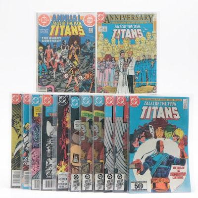 "DC Comics ""Teen Titans"" Comic Books Including ""The Judas Contract"""