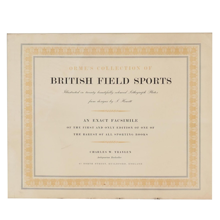Orme's Collection of British Field Sports Illustrated by Samuel Howitt