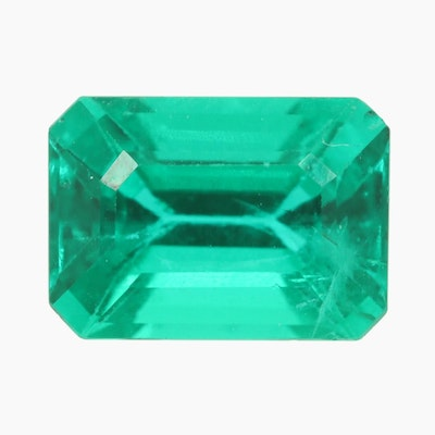 Loose 2.25 CT Emerald Gemstone with GIA Report
