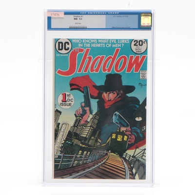 """1973 First DC Series """"The Shadow"""" Issue #1, CGC Certified"""