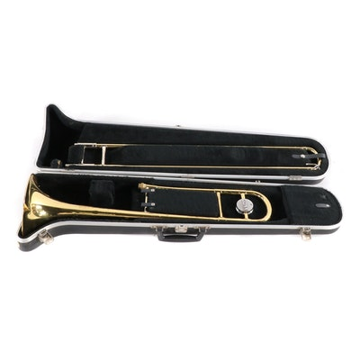 Pair of Student Trombones Featuring a King Trombone | EBTH