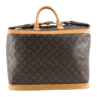 Louis Vuitton Paris Cruiser 45 in Monogram Canvas and Vachetta Leather
