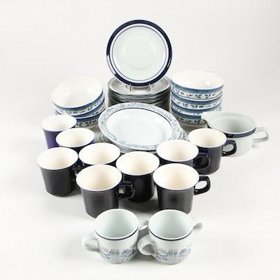 "Noritake Craftone ""Trees"" Mugs, Pfaltzgraff Cereal Bowls and More"