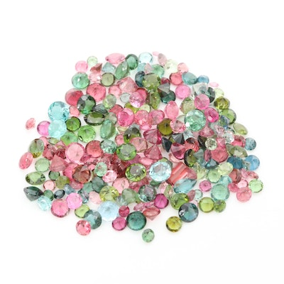Loose 57.11 CTW Tourmaline Gemstones