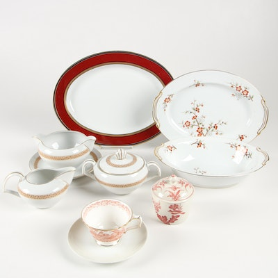 "Noritake ""Brenda"" and Other China Dinnerware"