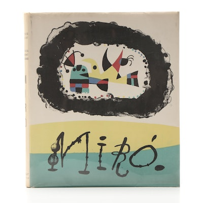 "First Edition ""Joan Miró"" by Jacques Prévert and G. Ribemont-Dessaignes"