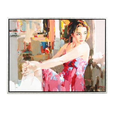 """Josef Kote Embellished Giclée """"The Promise"""""""