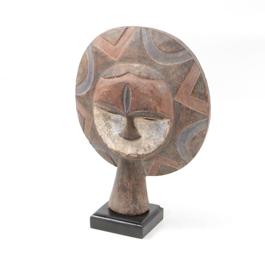 Wooden Eket Style Mask