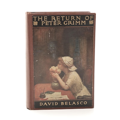 "Signed First Edition ""The Return of Peter Grimm"" by David Belasco"