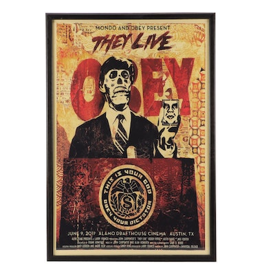 """Giclée After Shepard Fairey """"They Live"""""""