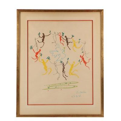 """Serigraph after Pablo Picasso """"La Ronde de la Jeunesse"""""""