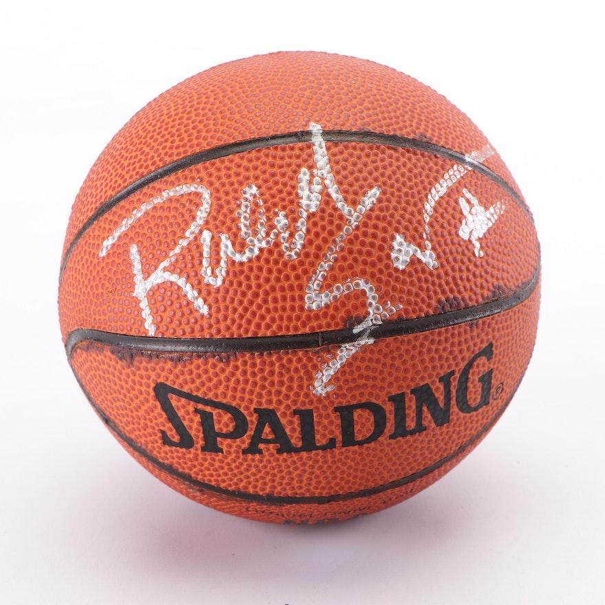 Ralph Sampson Autographed Miniature Basketball