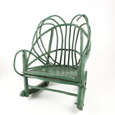 Antique Carlton Mclendon Victorian Slipper Chairs Ebth