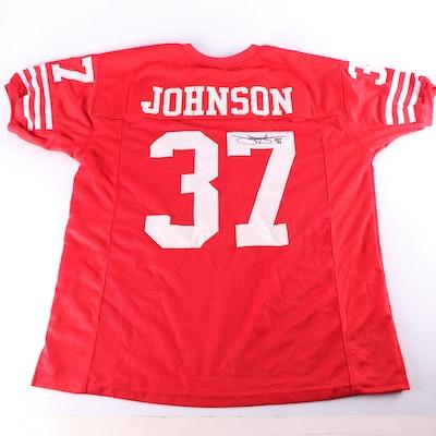Jimmy Johnson Autographed San Francisco 49ers Replica Jersey JSA COA