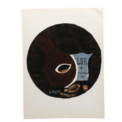 """Georges Braques Lithographs for """"Derrière le Miroir"""""""