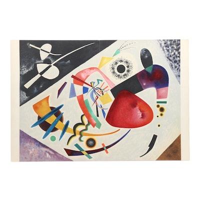 """Wassily Kandinsky Lithograph for """"Derrière le Miroir"""" """"Tâche Rouge"""""""
