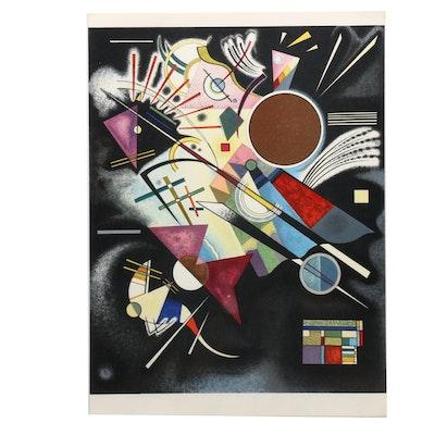 """Wassily Kandinsky Lithograph for """"Derrière le Miroir"""" """"Accompagnement en Noir"""""""