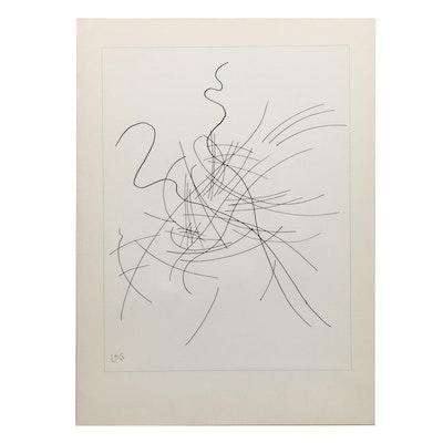"""Wassily Kandinsky Lithograph for """"Derrière le Miroir"""" """"Composition V"""""""