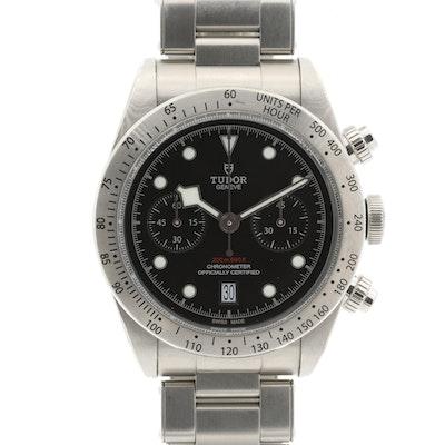 Tudor Heritage Black Bay Chrono Automatic Wristwatch