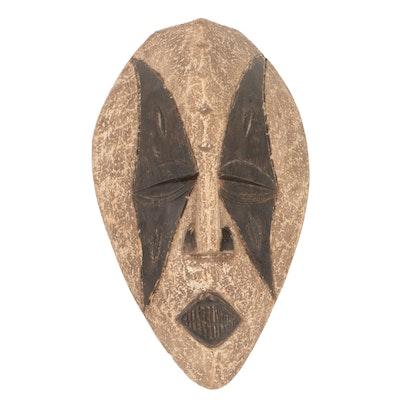 Wooden Igbo/Idoma Style Mask