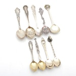 Sterling Silver Souvenir Spoons, Antique and Vintage