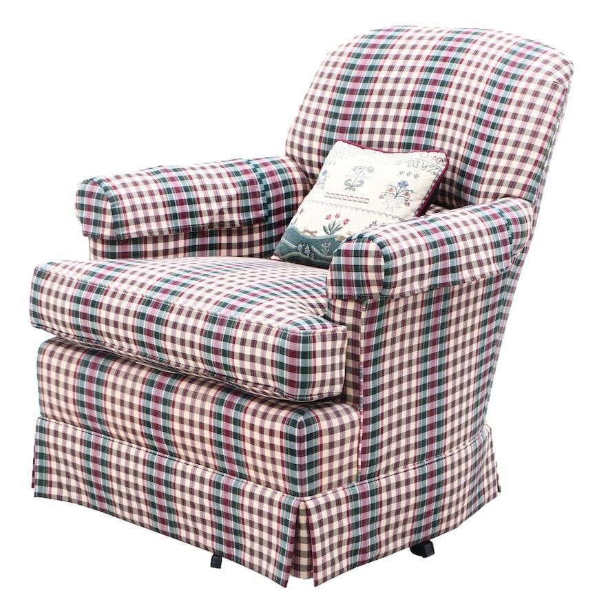 Ethan Allen Swivel Lounge Chair
