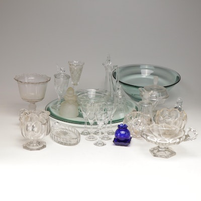 Heisey and other Vintage Glass