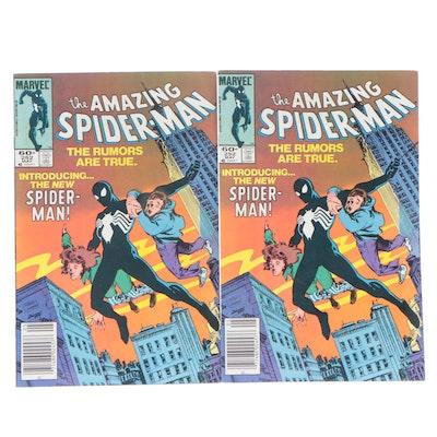 "1984 Marvel ""The Amazing Spider-Man"" #252 First Black Alien Symbiote Costume"