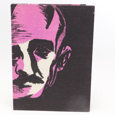 "Limited Edition ""The Face of Edgar Allan Poe"" Signed by Antonio Frasconi"