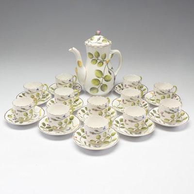 "Royal Worcester Bone China ""Blind Earl"" Tea Service"