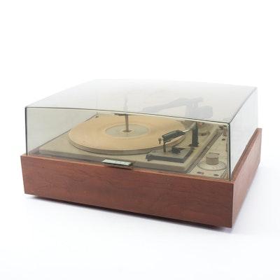 KLH Model Twenty-Four Wood Encased Turntable, 1960s