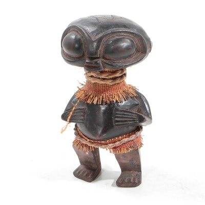Tikar Style Ancestral or Pygmy Figure from Cameroon