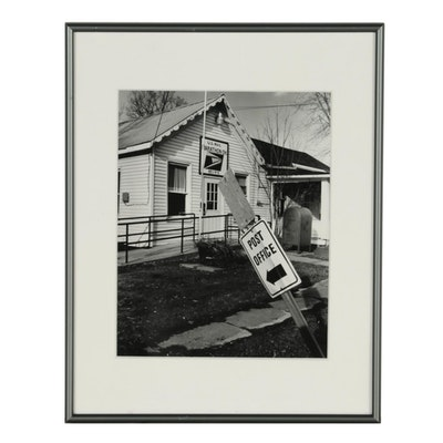 "John B. Chewning 2003 Silver Gelatin Photograph ""Post Office"""