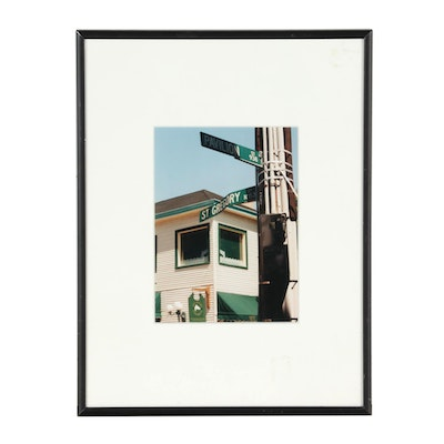 "John B. Chewning 1998 Color Photograph ""Pavillion & St. Gregory"""