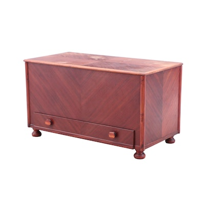 Art Deco/Transitional Style Mahogany Chest, Mid to Late 20th Century