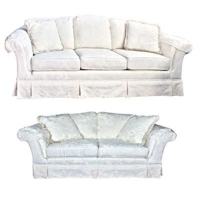 Velvet Loveseat By Southern Furniture Co Ebth