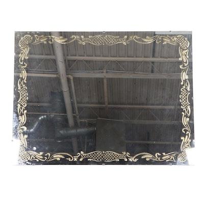 Venetian Style Parcel-Gilt Wall Mirror