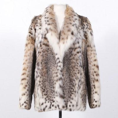 Canadian Lynx Fur Coat, Vintage