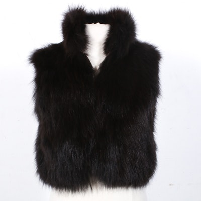 Marks-Lloyds Furs of Denver Fox Fur Vest