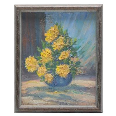 Smyth Floral Still Life Oil Painting