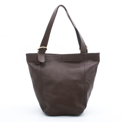 Coach Soho Brown Leather Tote Shoulder Bag